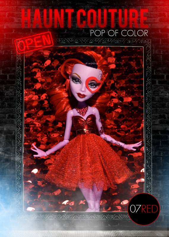 Monster High Pop of Color Collection: Red Skirt