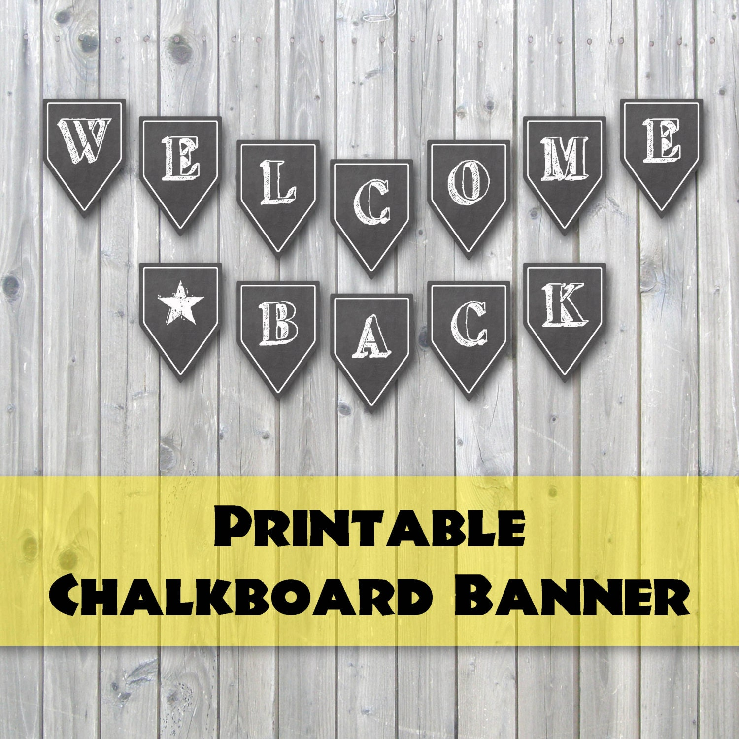It's just a photo of Modest Welcome Banner Printable