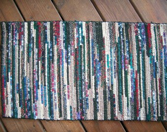 rag rug,locker hook rug,homemade rug,cotton rug,bath rug, Flannel rug,