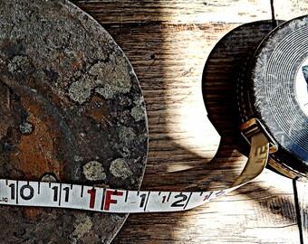 Vintage Lufkin HI-Line Cloth Measuring Tape Tool