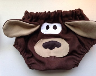 Googly-eyed-doggy diaper covers