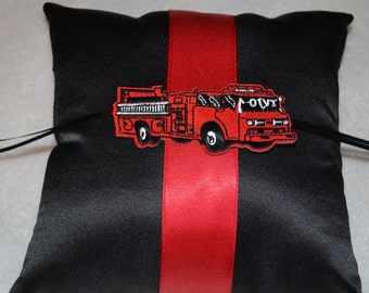 Fire Fighter Ring pillow