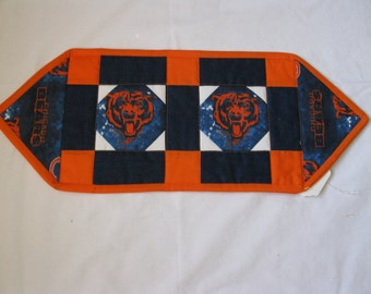 Chicago Bears NFL Football Table Runner Toilet Tank Cover Party Gift Unique