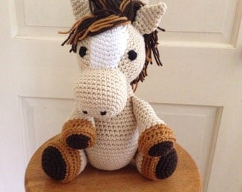Crocheted Horse Stuffed Animal