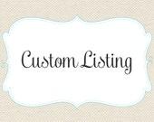 Custom Order 75 printed cards for Lindsay