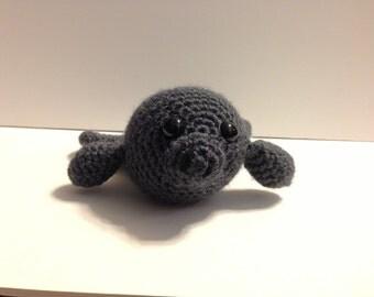 Crochet Amigurumi Manatee : Crochet Amigurumi Cute Manatees