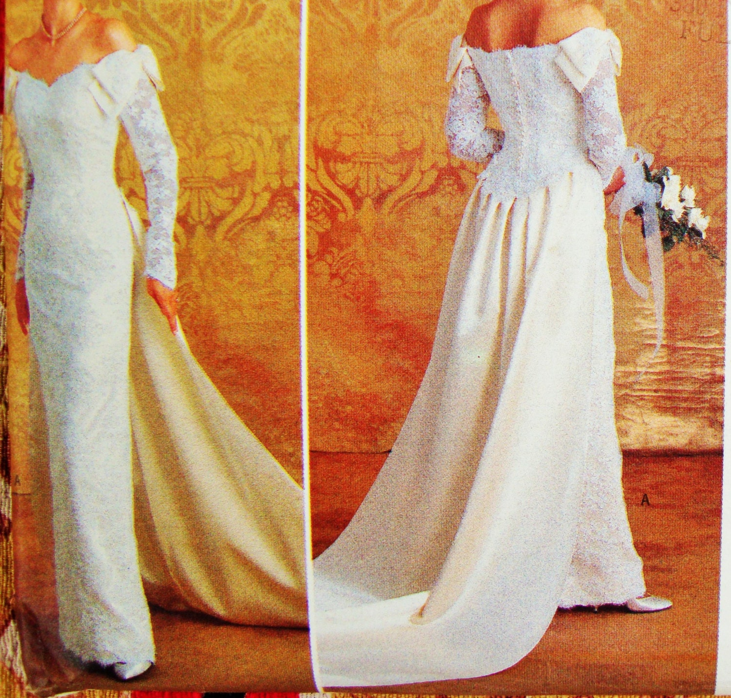 Butterick bridal dress sewing pattern no 4288 by for Butterick wedding dress patterns