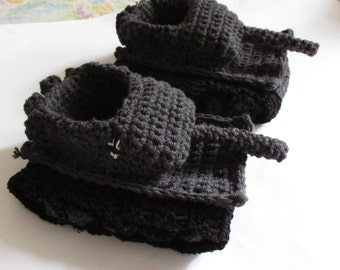 Mens knit slippers Etsy