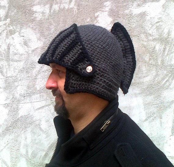Knitting Pattern Knight Hat : knight helmetcrochet pattern hat pattern crochet hat hat