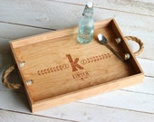 Serving Tray with Grain Design - Custom
