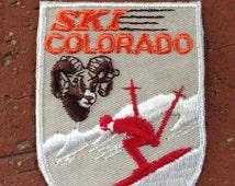Ski Colorado Vintage Travel Patch by Lion