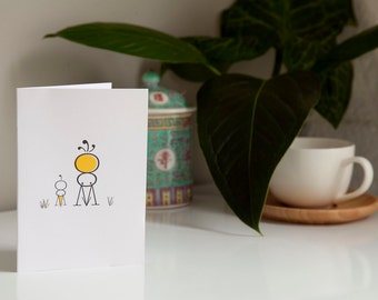 Cute Note Cards - set of 5