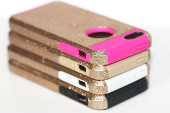 Iphone 5s Gold Glitter Case Gold Glitter Iphone 5c Case