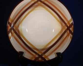 "Metlox (Vernonware Division) ""Butterscotch 13"" Serving Bowl"