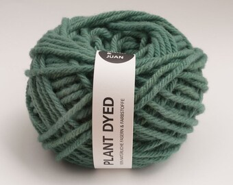 Plant Dyed - Merino Wool - 6 mm - Teal