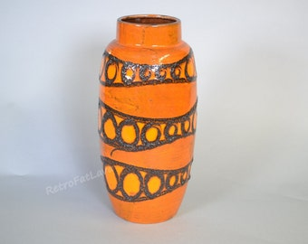 Large Scheurich West German Pottery vase  553-38