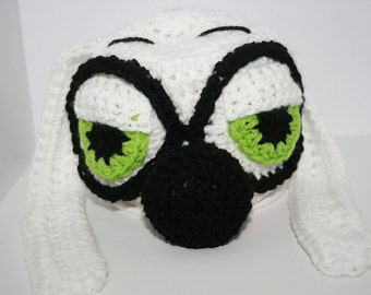 Mr.Peabody And Sherman 'Inspired' Crochet Beanie Hat. All sizes available. Great Gift. Photo Prop.
