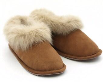 Portuguese Sheepskin slippers, Pantufas Serra da Estrela