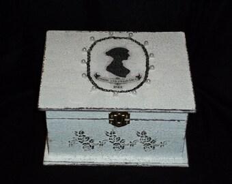 Sewing Box/ keepsake/jewelry box/