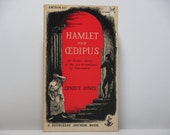 Edward Gorey Cover Art: Hamlet And Oedipus By Ernest Jones 1949 Vintage Book