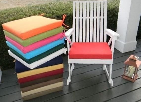 ... Cushion Pad for Patio Chair ~ Rocker Rocking Chair - CHOOSE COLOR