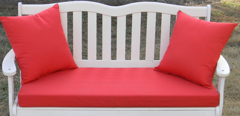 Indoor Outdoor Foam Swing Bench Cushion 50 1 2 X