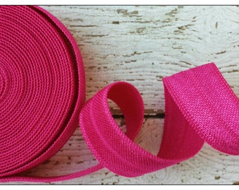 5/8 AZALEA Fold Over Elastic 5 or 10 Yards