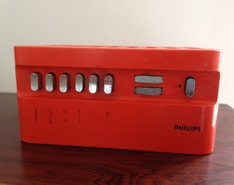 Receiver for Wire diffusion Philips, 60s vintage.