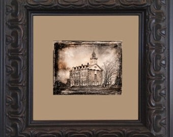 Kirtland Temple Tin Type Photo