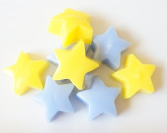 100 Bulk Twinkle Star Soaps -DIY Party Favors- Baby Shower