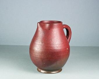 vintage french pitcher terra cotta