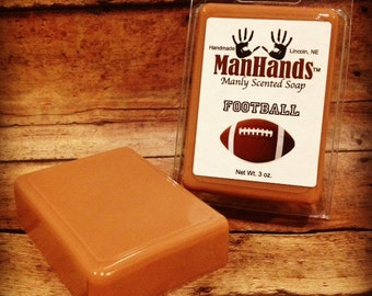 Football Scented Soap 3 oz. Bar