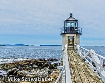 """Light House #8 - Photograph - 8"""" x 10"""" matted to 11"""" x 14"""""""