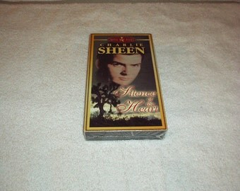 Vintage 1984 SILENCE of the Heart VHS Movie with Charlie SHEEN - New in Sealed Pack, Rare