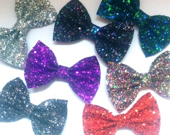 10% off with the code BDAY10  Cute Retro Glitter Bow choose from 25 colours