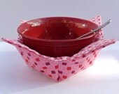 Microwavable bowl potholder/cozy