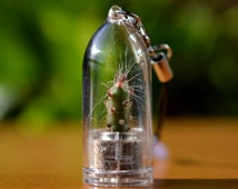 Vampire Cactus Terrarium Phone Charm with Dust Plug * Variety Charm Selection *