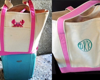 Large Cotton Canvas Tote ** limited supply available.