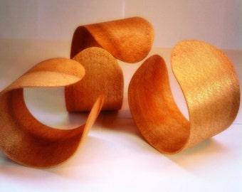Maple wrap bangles