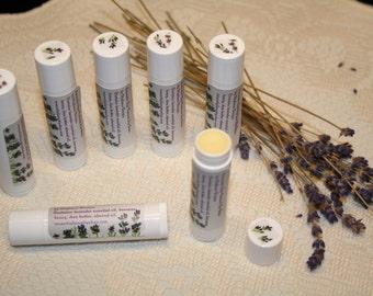 Lavender Lips Natural Lip Balm