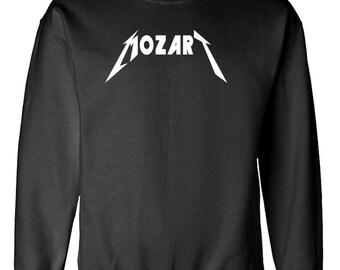 MOZART CLASSICAL COMPOSER music parody sweatshirt sweat shirt
