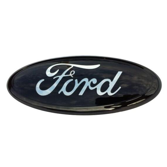 ford emblem schwarz und chrom passt ford f 150 ranger