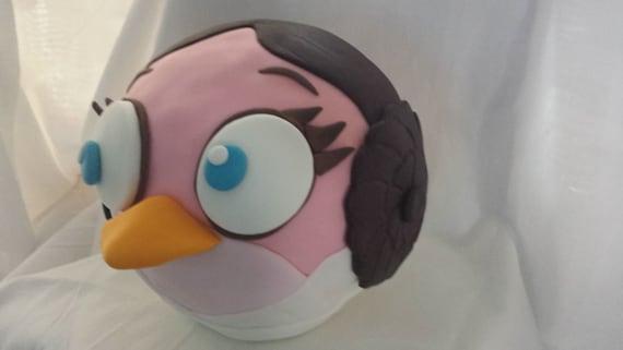 Princess Leia Birthday Cake Topper