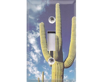 Cactus Light Switch Cover