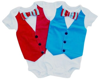 Birthday Seuss Bowtie Vest - Build a Set[BTVBTVBS]