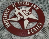 Items Similar To Texas A Amp M Lonestar Wall Art Decor On Etsy