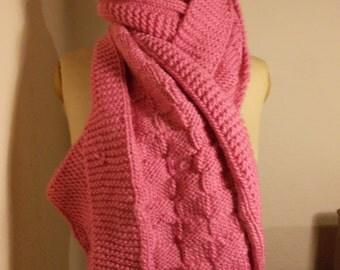 Long fluffy scarf Rosalie wish
