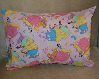Travel Pillow Case / Child Pillow Case Various DISNEY PRINCESS / Snow White / Cinderella
