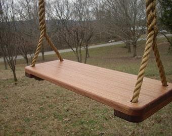 9 1/2 Inch Thin Sapele Tree Swing
