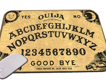"Ouija Board Mouse Pad 1/4"" Thick Gaming"